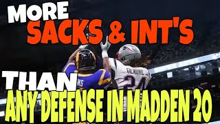 Download THIS DEFENSE WILL WIN U GAMES! OVERPOWERED BLITZ SCHEME VS PASS & RUN! MADDEN 20 GAMEPLAY TIPS Video