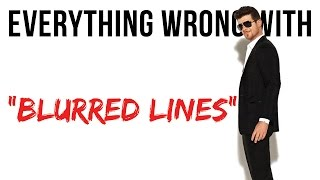 Download Everything Wrong With Robin Thicke ″Blurred Lines″ Video