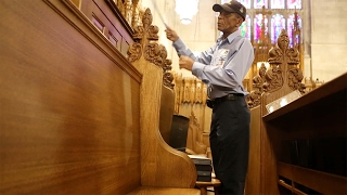 Download Reflecting on Julian Abele with Duke Chapel Custodian Oscar Dantzler Video
