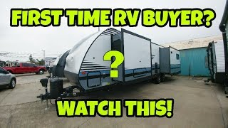 Download FIRST TIME RV BUYERS.. Watch this! Travel Trailer Video