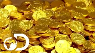 Download How Chocolate Coins Are Made | How It's Made Video