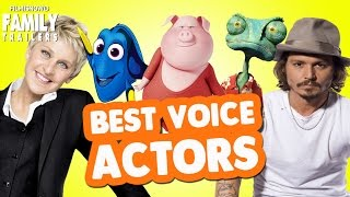 Download Top 10 Celebrity Voice Actors from Animated Family Movies Video