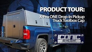 Download X-Pro ONE Drop-In Aluminum Commercial Truck Cap/Pack Video