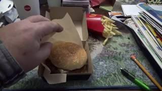Download Mukbang Eating @Mcdonld's Swiss Mushroom Melt Burger Fries And Coke Video