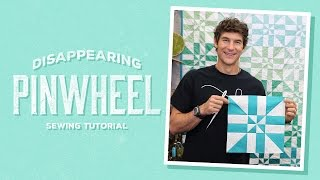 Download Make a Disappearing Pinwheel Quilt with Rob Video