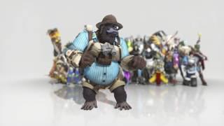 Download [Overwatch] - Winston Emote ; Dance Video