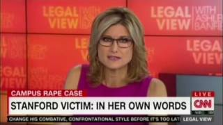 Download Ashleigh Banfield reads letter from Stanford rape survivor Video