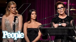 Download Khloé Kardashian, Kris Jenner & Family Attend Angel Ball Without Sister Kim | People NOW | People Video