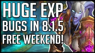 Download HUGE EXPERIENCE BUG Allows Super Fast Leveling - WoW Free to Play Weekend Video