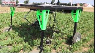 Download Robot désherbage ecorobotix Video