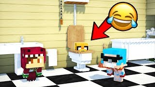 Download ¡ME ESCONDO DENTRO DE UN RETRETE! 😂💩 ¿ME ENCONTRARÁN? | MINECRAFT EL ESCONDITE #28 Video
