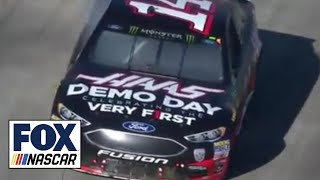Download Clint Bowyer snaps 190-race winless streak | 2018 MARTINSVILLE | FOX NASCAR Video