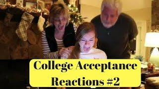 Download College Acceptance Reactions Compilation 2018 #2 Video