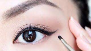 Download Cách Kẻ Mắt Cơ Bản Cho Người Mới Bắt Đầu - Winged Eyeliner For Beginner [ VANMIU BEAUTY ] Video
