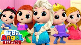 Download *Mejores Canciones de Princesas* 👸   Canciones Infantiles   Little Angel Español Video