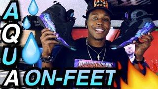 Download 2015 Vs. 2007 ″Aqua″ Air Jordan 8's On-Feet Video