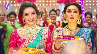 Download মিমি ও শুভশ্রীকে একি ফ্রেমে নাচালেন রাজ, দেখুন ভিডিও। Making of Joy Joy Durga Maa Video Song Video