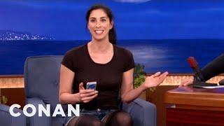 Download Sarah Silverman's Dirty Smartphone Hack - CONAN on TBS Video
