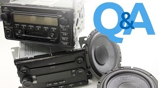 Download Pairing Speaker Wattage To A Factory Amplified Stereo System | Car Audio Q&A Video