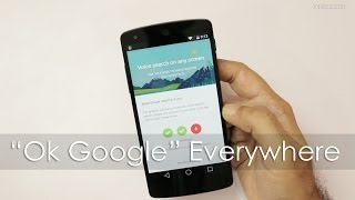 Download Enable ″Okay Google″ Voice Search from any Screen Video