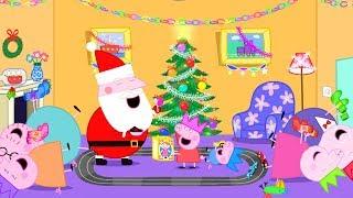 Download Peppa Pig Français   Compilation d'épisodes   45 Minutes - Noël 4K!   Dessin Animé Pour Enfant Video