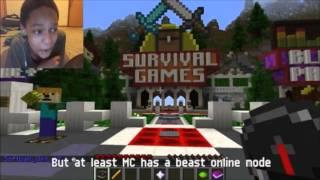 Download Minecraft Vs. Terraria - Video Game Rap Battles REACTION   BLOCKY! Video