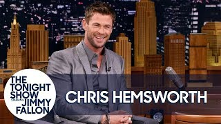Download Chris Hemsworth's Toddler Son Scaled a Fridge to Reach Candy Video