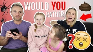 Download WOULD YOU RATHER? 😱 PARENT vs KiDS EDiTiON! Video