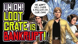 Download LOOT CRATE Goes BANKRUPT! Marvel Can't Sell 1 Million Comics Without It? Video