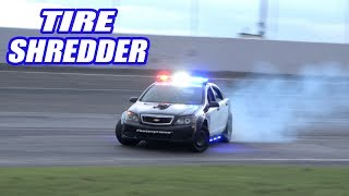 Download Drag Racing AND Drifting Our 1000HP Cop Car! Will Our NEW Axle Handle The Power? Video