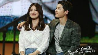 Download [Full]160617 송중기 송혜교 청두팬미팅 Song Hye Kyo Song Joong Ki Chengdu Fan Meeting Song Song Couple 宋仲基宋慧乔 Video