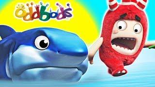 Download Oddbods | BABY SHARK | Funny Cartoons For Children Video
