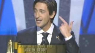 Download Adrien Brody Wins Best Actor: 2003 Oscars Video