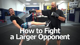 Download How to Fight Someone Bigger and Stronger Than You - The Trick To Beating Larger Opponents Video