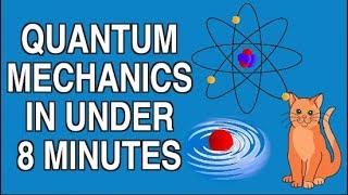 Download QUANTUM MECHANICS EXPLAINED UNDER 8 MINUTES Video