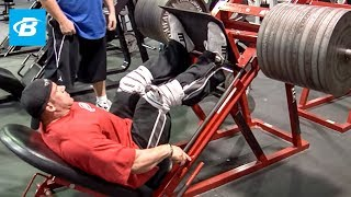 Download Jay Cutler's Mr. Olympia Leg Workout | 2010 Road to the Olympia Video