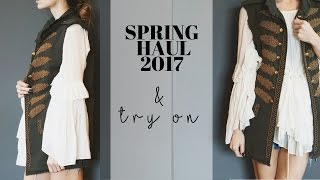 Download Spring Haul + Try On (Zara, Asos, Earth Brands, H&M, Free People) Video