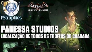 Download Batman™: Arkham Knight - Panessa Studios - Todos os troféus do charada. Video