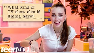 Download Emma Chamberlain Guesses How 2,117 Fans Responded to a Survey About Her | Teen Vogue Video