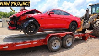 Download I Bought A WRECKED 2017 Mustang GT with Hidden MODS Video