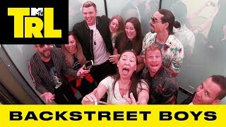 Download Backstreet Boys Surprise Fans w/ 'I Want It That Way' & 'As Long As You Love Me' Sing-A-Longs | TRL Video
