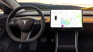 Download Tesla Model 3 INTERIOR Review In Detail Tesla 3 Interior Video CARJAM TV HD Video