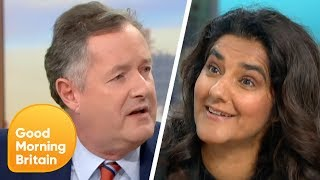 Download Piers Clashes With Extinction Rebellion Co-Leader Skeena Rathor Over Protests | Good Morning Britain Video