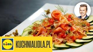 Download 🍝 Makaron w kremowym sosie z łososia wędzonego - Karol Okrasa - Przepisy Kuchni Lidla Video
