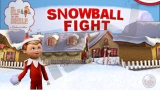 Download Snowball Fight Elf on the Shelf ® Christmas Game - iPhone Gameplay Video Video