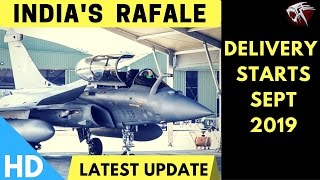 Download Indian Rafale Fighter Jets Delivery To Commence From September 2019 Video