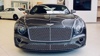Download 2020 Bentley Continental GT V8 Coupe Walkaround + Cold Start! ($6,000 ROTATING DISPLAY!) Video