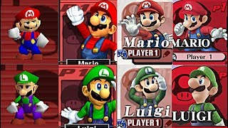 Download Evolution Of All Characters In Super Smash Bros (1999-2016) N64, Gamecube, Wii, 3DS, Nintendo Wii U Video