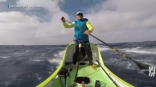 Download Spaniard paddles from US West coast to Hawaii Video