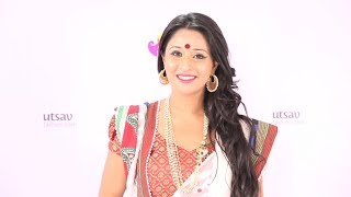 Download How to wear a Bengali style Saree in the DIY Way Video